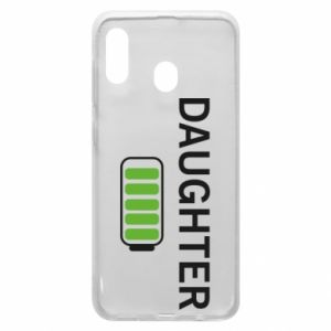 Phone case for Samsung A20 Daughter charge - PrintSalon