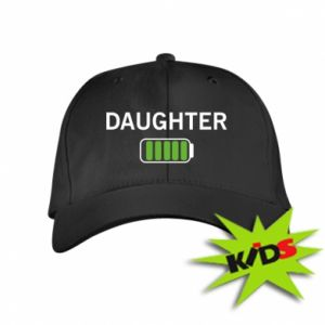 Kids' cap Daughter charge - PrintSalon