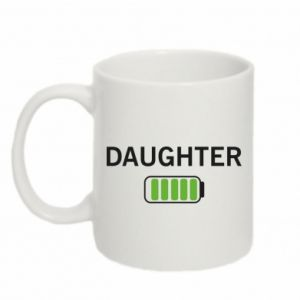 Mug 330ml Daughter charge - PrintSalon