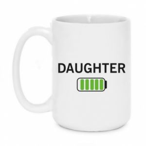Mug 450ml Daughter charge - PrintSalon