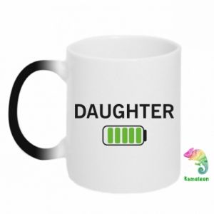 Chameleon mugs Daughter charge - PrintSalon