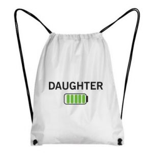 Backpack-bag Daughter charge - PrintSalon