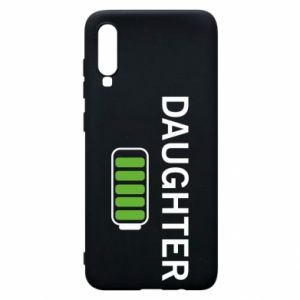 Phone case for Samsung A70 Daughter charge - PrintSalon