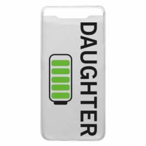 Phone case for Samsung A80 Daughter charge - PrintSalon