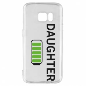 Phone case for Samsung S7 Daughter charge - PrintSalon