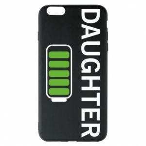 Phone case for iPhone 6 Plus/6S Plus Daughter charge - PrintSalon