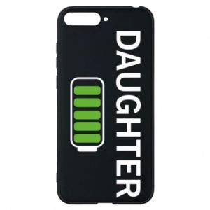 Phone case for Huawei Y6 2018 Daughter charge - PrintSalon
