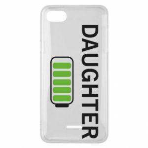 Phone case for Xiaomi Redmi 6A Daughter charge - PrintSalon