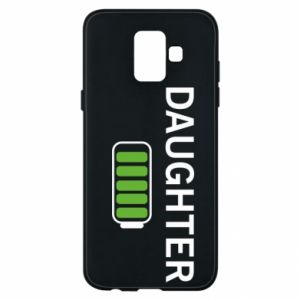 Phone case for Samsung A6 2018 Daughter charge - PrintSalon