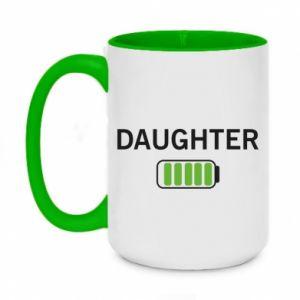Kubek dwukolorowy 450ml Daughter charge