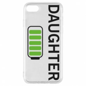 Phone case for iPhone 8 Daughter charge - PrintSalon