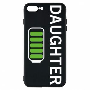 Phone case for iPhone 8 Plus Daughter charge - PrintSalon