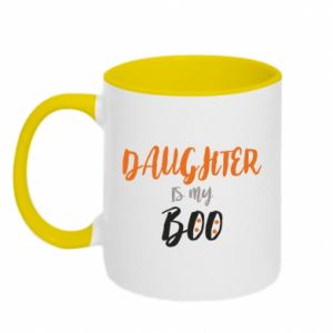 Two-toned mug Daughter is my boo