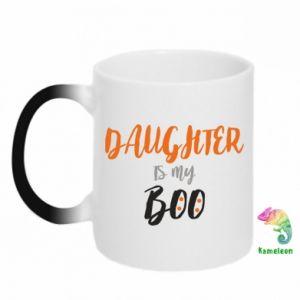 Kubek-kameleon Daughter is my boo