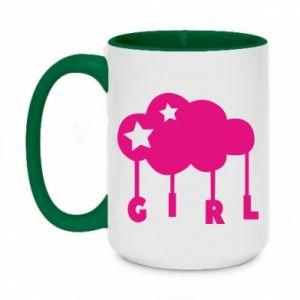 Two-toned mug 450ml Daughter