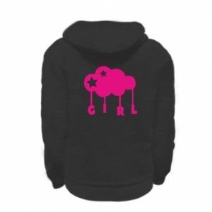 Kid's zipped hoodie % print% Daughter