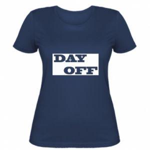 Damska koszulka Day off