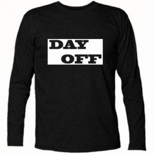 Koszulka z długim rękawem Day off