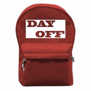 Plecak z przednią kieszenią Day off
