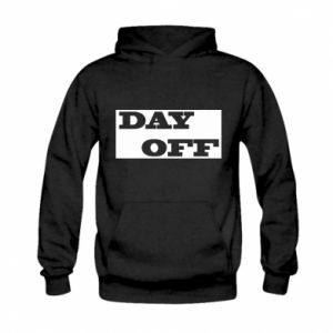 Bluza z kapturem dziecięca Day off
