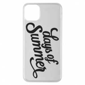 Etui na iPhone 11 Pro Max Days of summer