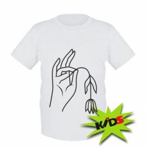 Dziecięcy T-shirt Dead flower