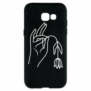 Etui na Samsung A5 2017 Dead flower