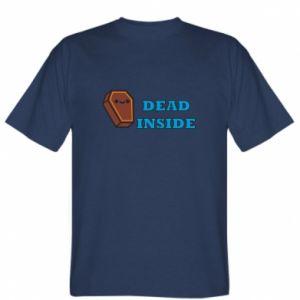 T-shirt Dead inside coffin