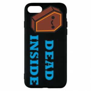 Etui na iPhone SE 2020 Dead inside coffin