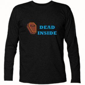 Koszulka z długim rękawem Dead inside coffin