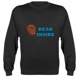 Bluza (raglan) Dead inside coffin