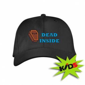 Kids' cap Dead inside coffin