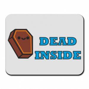 Mouse pad Dead inside coffin