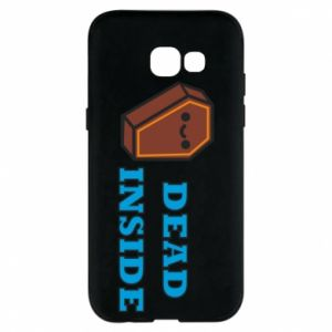 Phone case for Samsung A5 2017 Dead inside coffin