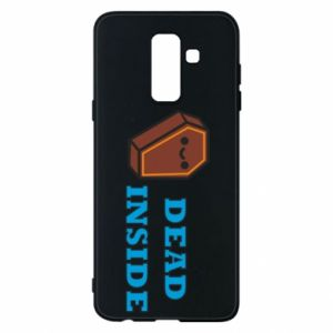 Phone case for Samsung A6+ 2018 Dead inside coffin
