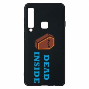 Phone case for Samsung A9 2018 Dead inside coffin