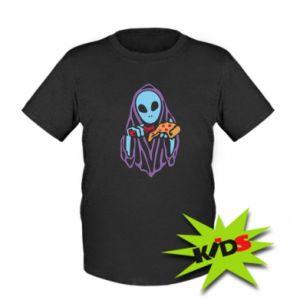 Dziecięcy T-shirt Death with pizza
