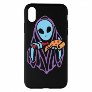 Etui na iPhone X/Xs Death with pizza