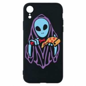 Etui na iPhone XR Death with pizza