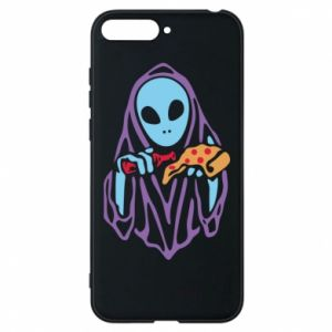 Etui na Huawei Y6 2018 Death with pizza