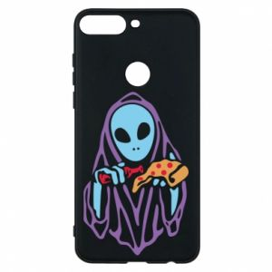 Etui na Huawei Y7 Prime 2018 Death with pizza