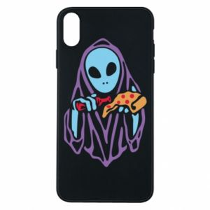 Etui na iPhone Xs Max Death with pizza