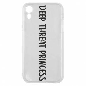 Etui na iPhone XR Deep threat princess