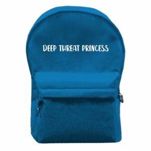 Plecak z przednią kieszenią Deep threat princess