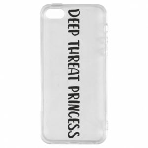Etui na iPhone 5/5S/SE Deep threat princess