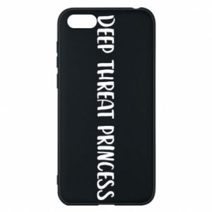 Etui na Huawei Y5 2018 Deep threat princess