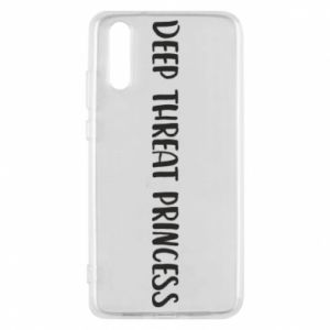 Etui na Huawei P20 Deep threat princess