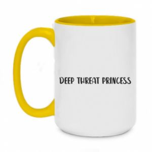Kubek dwukolorowy 450ml Deep threat princess