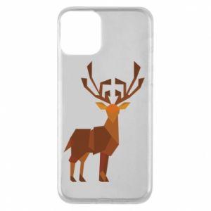 Etui na iPhone 11 Deer abstraction