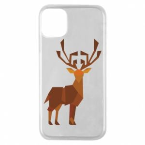 Etui na iPhone 11 Pro Deer abstraction